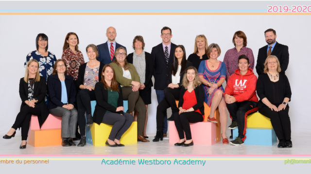 Westboro Academy group staff photo