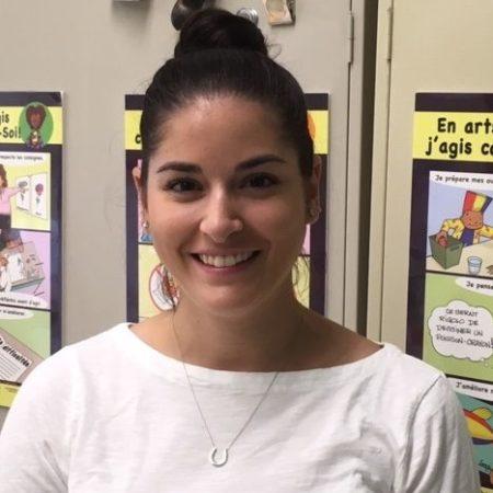 SK Teacher/enseignante de jardin Catherine Ettedgui