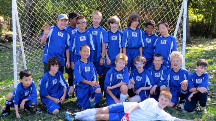 School Soccer Team